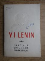 Anticariat: Vladimir Ilici Lenin - Sarcinile uniunilor tineretului