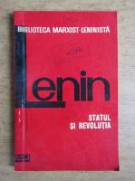 Anticariat: Vladimir Ilici Lenin - Statul si revolutia