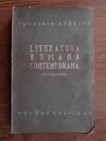 Vladimir Streinu - Literatura romana contemporana (1943)