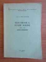 Anticariat: Voicu Dolocan - Electronica starii solide (volumul 2)
