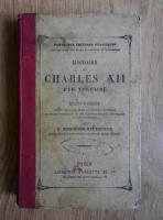 Anticariat: Voltaire - Histoire de Charles XII (1878)