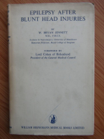 Anticariat: W. Bryan Jennett - Epilepsy after blunt head injuries