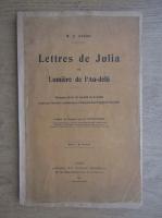 Anticariat: W. E. Stead - Lettres de Julia ou Lumiere de l'au-dela (1911)