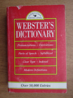 Anticariat: Webster's dictionary