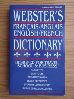 Webster's english-french dictionary