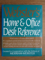 Webster's home and office desk reference