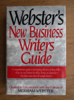 Anticariat: Webster's new business writers guide