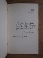 Werner Sollner - Wetterberichte gedichte (cu autograful autorului)