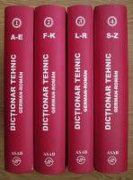Wilhelm Theiss, Maria Liliana Theiss - Dictionar Tehnic German-Roman (4 volume)