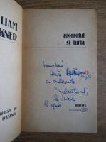 William Faulkner - Zgomotul si furia (cu autograful traducatorului, Mircea Ivanescu)