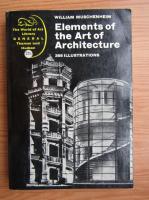 Anticariat: William Muschenheim - Elements of the art of architecture