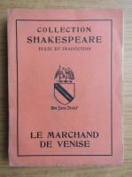Anticariat: William Shakespeare - Le marchand de Venise (1947)