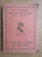 William Shakespeare - Le vie et la mort du Roi Jean (1930)