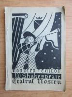 Anticariat: William Shakespeare - Noaptea regilor