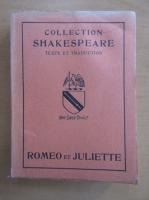 William Shakespeare - Romeo et Juliette