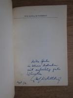 Wolf Aichelburg - Fingerzeige essays (cu autograful autorului)