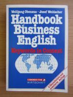 Anticariat: Wolfgang Obenaus - Handbook of business english