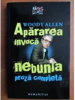 Anticariat: Woody Allen - Apararea invoca nebunia