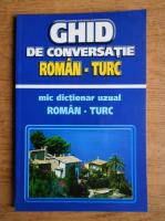 Z. G. Janom - Ghid de conversatie roman-turc. Mic dictionar uzual roman-turc