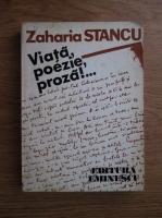 Anticariat: Zaharia Stancu - Viata, poezie, proza!