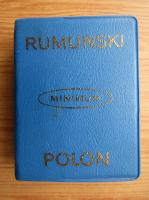 Zdzislaw Skarzynski - Dictionar minim roman-polon si polon-roman