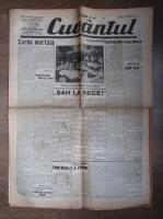 Anticariat: Ziarul Cuvantul, 13 noiembrie 1931