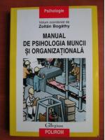 Anticariat: Zoltan Bogathy - Manual de psihologia muncii si organizationala