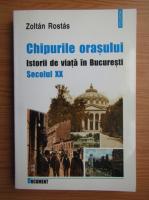 Zoltan Rostas - Chipurile orasului. Istorii de viata in Bucuresti