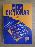 Anticariat: Zorela Creta, Cristina Gherman - Mic dictionar de omonime, paronime, sinonime, antonime