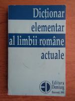 Anticariat: Zorela Creta - Dictionar elementar al limbii romane actuale