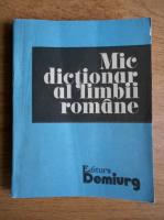 Anticariat: Zorela Creta - Mic dictionar al limbii romane