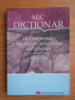 Anticariat: Zorela Creta - Mic dictionar de omonime, paronime, sinonime, antonime