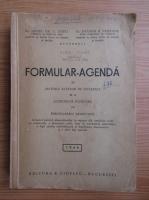 Zotta - Formular-agenda in materia actelor de notariat si a actiunilor judiciare cu formularele respective (1946)