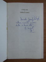Zvera Ion - Copilul cafea (cu dedicatia si autograful autorului pentru Balogh Jozsef)